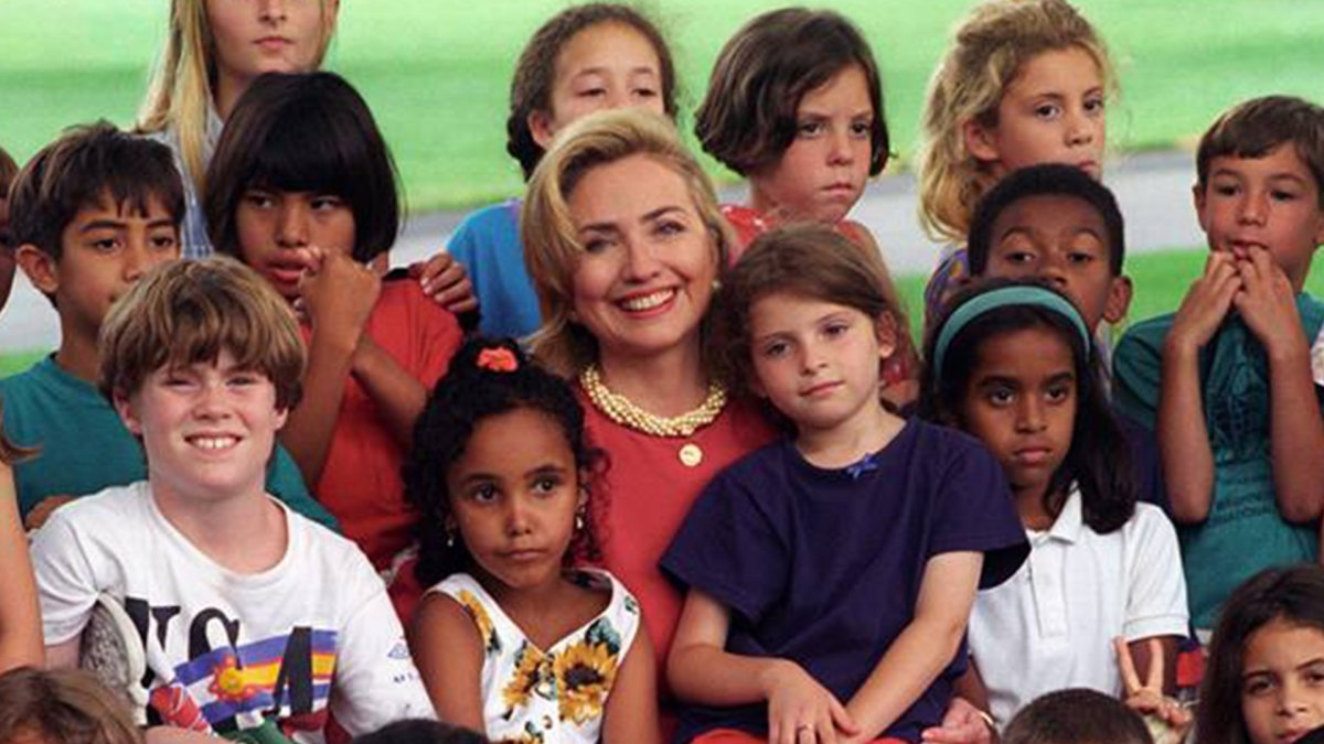 Here Comes Hillary, Champion of Children!